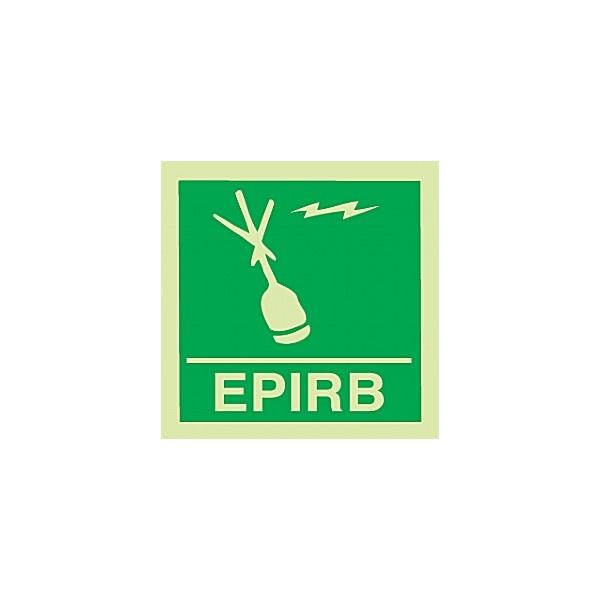 Gemglow EPIRB Sign
