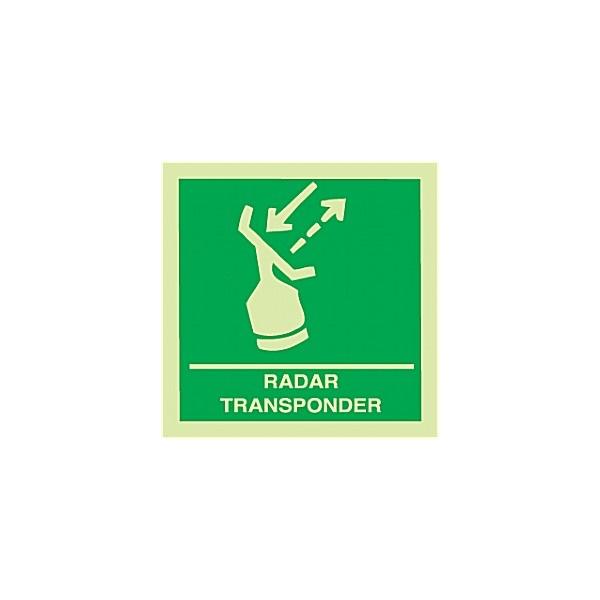 Gemglow Radar Transponder Sign