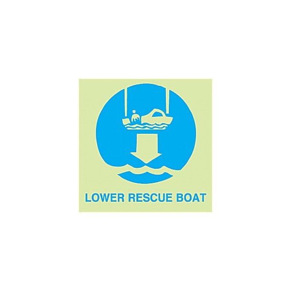 Gemglow Lower Rescue Boat Sign