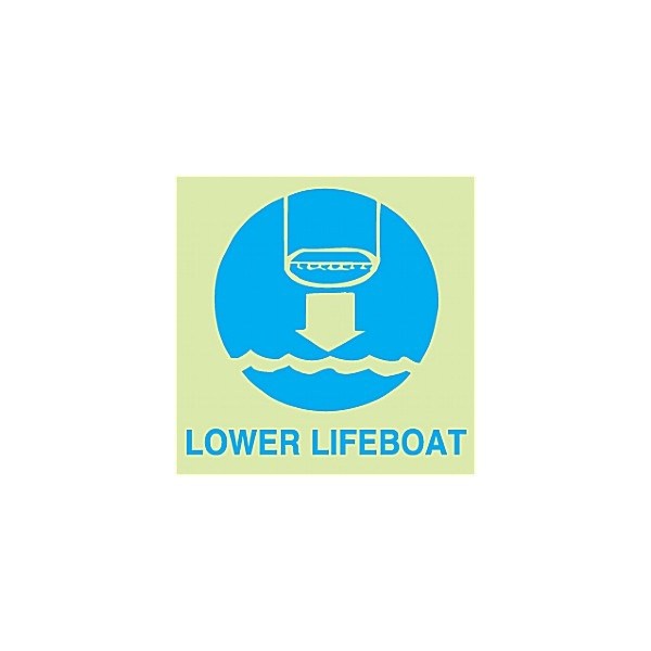 Gemglow Lower Lifeboat Sign
