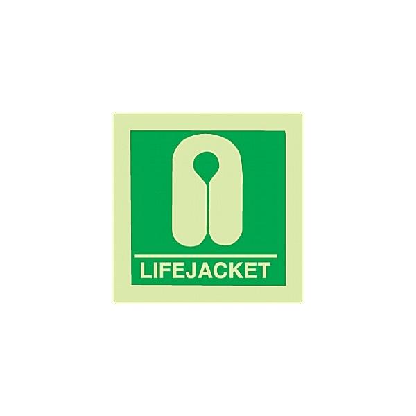 Gemglow Lifejacket Sign