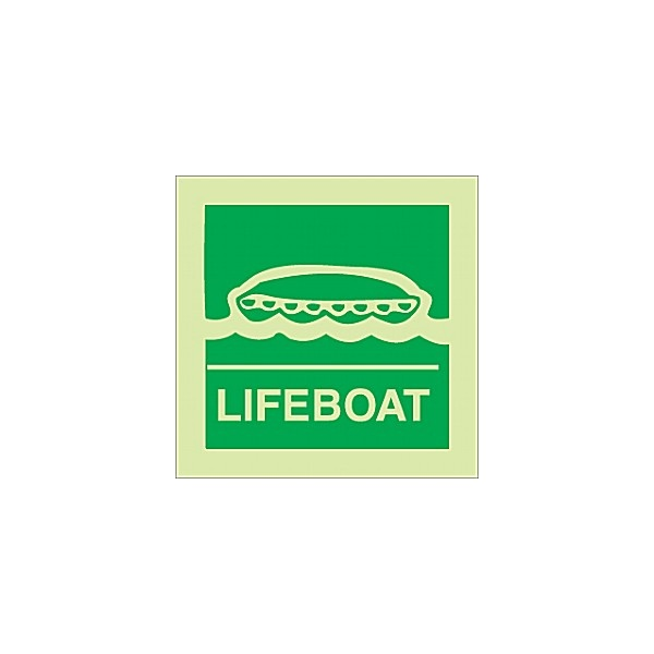 Gemglow Lifeboat Sign