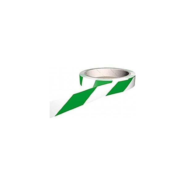 White/Green Adhesive Floor Marking Tapes