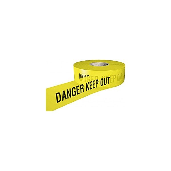 Danger Keep Out Security Tape