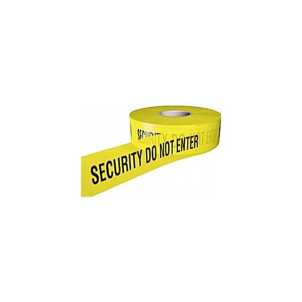 Security Do Not Enter Security Tape
