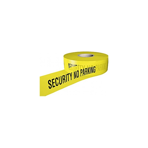 Security No Parking Security Tape