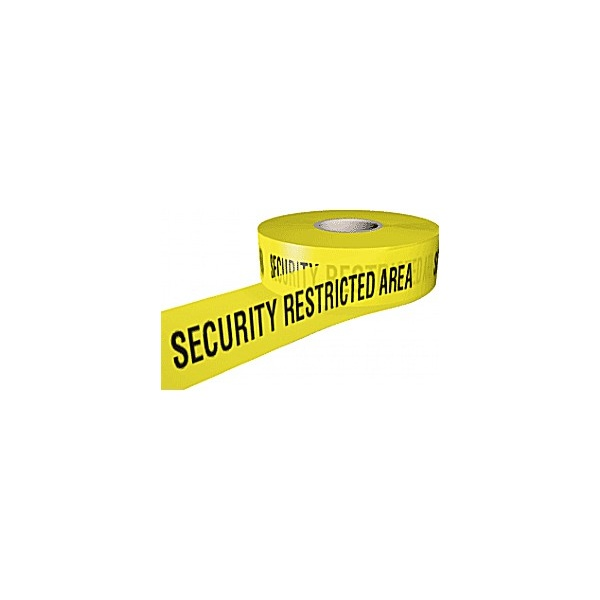 Security Restricted Area Security Tape