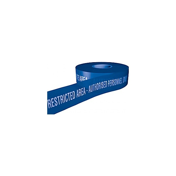 Police Restricted Area - Authorised Personel Only Security Tape