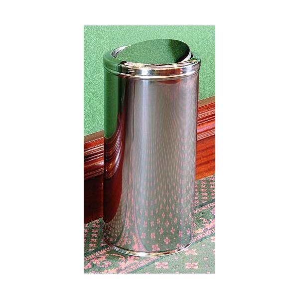Stainless Steel Fire Retardant Swivel Top Litter Bin