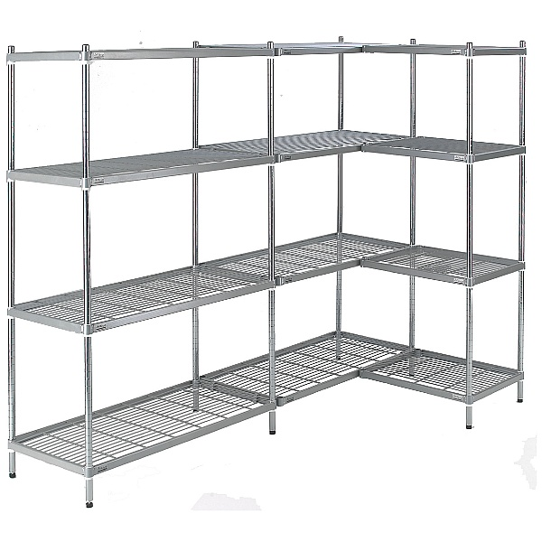 Quartermaster Hygienic Shelving (Antibacterial Nylon Coated)