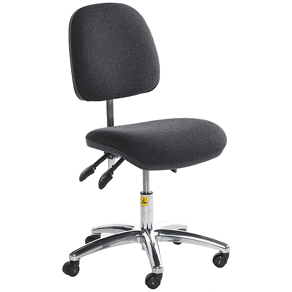 Static Dissipative Ergonomic Operator Chair