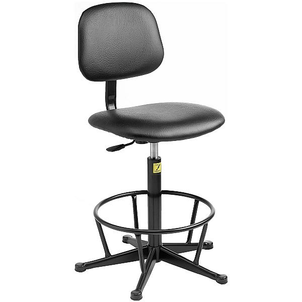 Static Dissipative Vinyl High Chair