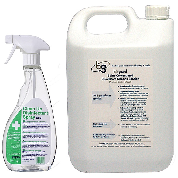 Bioguard Disinfectant Cleansers