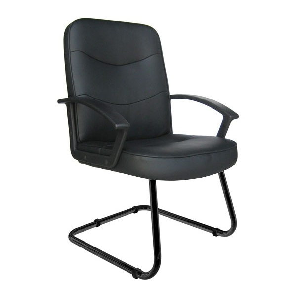 Albertine Enviro Leather Cantilever Chair