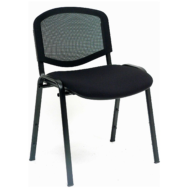 Mono Mesh Conference Chair With Black Frame (Pack of 4)