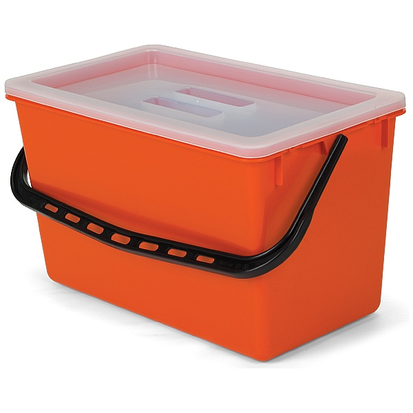 Numatic 22 Litre Bucket With Clear Drop On Lid 629116