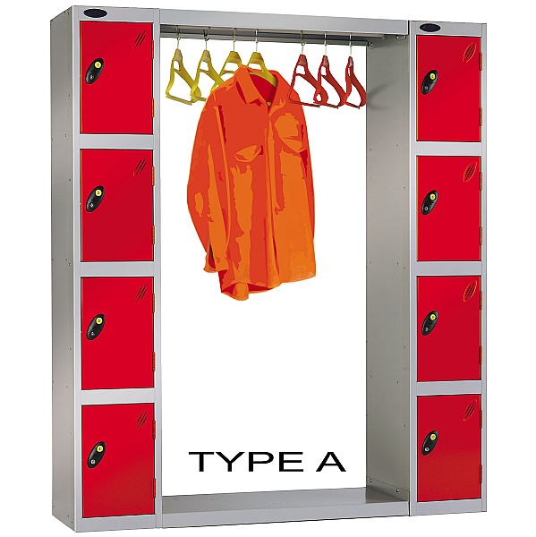 Cloakroom Locker Bridging Unit