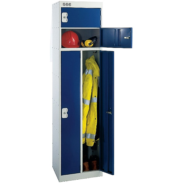2 Person Locker With Biocote