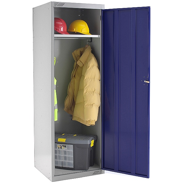 Large Volume Police Locker With Biocote