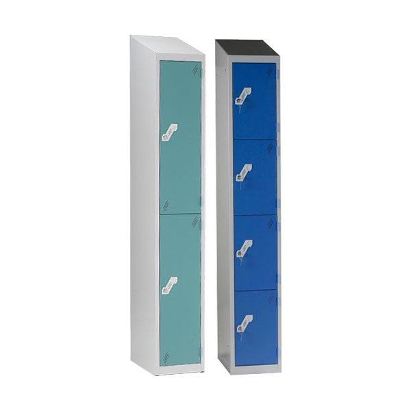 Fully Welded Sloping Top Lockers