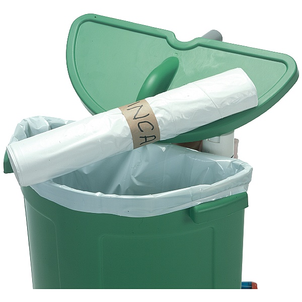 Numatic Roll of 10x 70 Litre White Waste Bags 629444