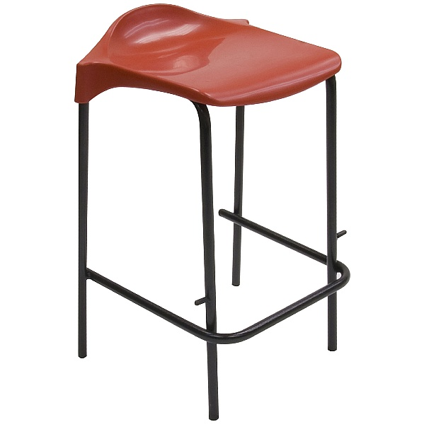 Scholar Polypropylene Low Back Stool