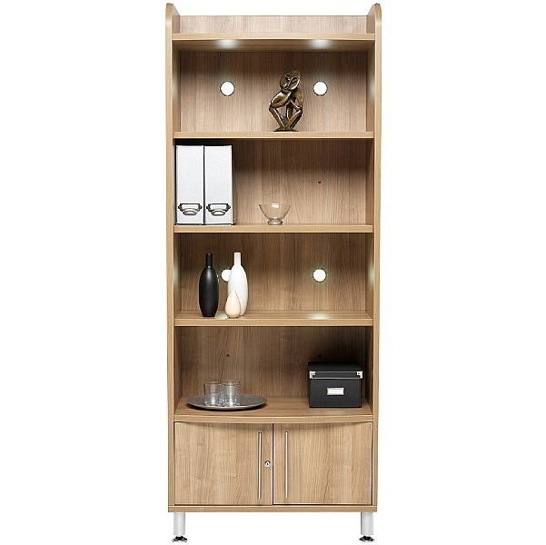 Trilogy Tall Wide Bookcase Unit
