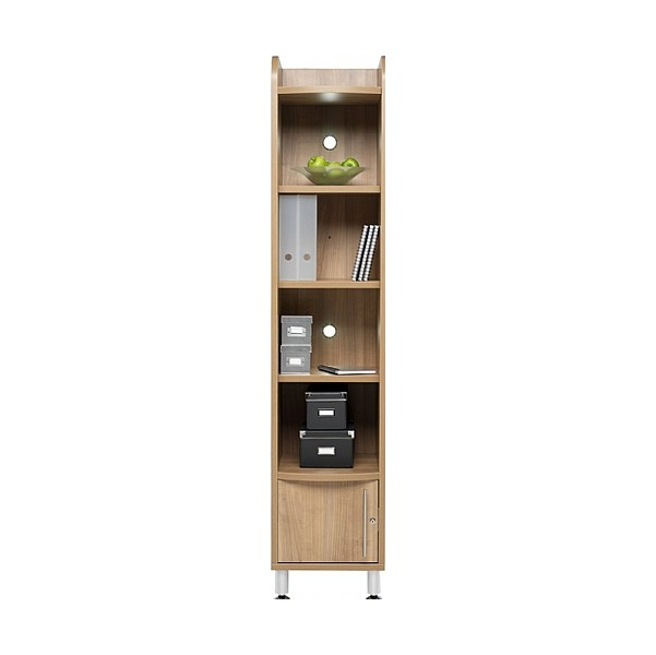Trilogy Tall Narrow Bookcase Unit