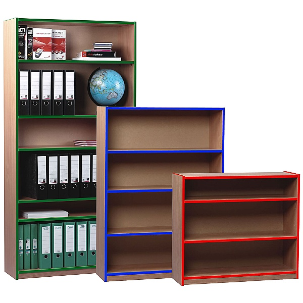 Coloured Edge Bookcases