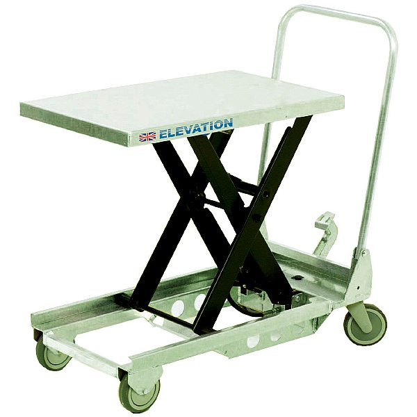 Britruck Single Scissor Lift Tables - Light Duty