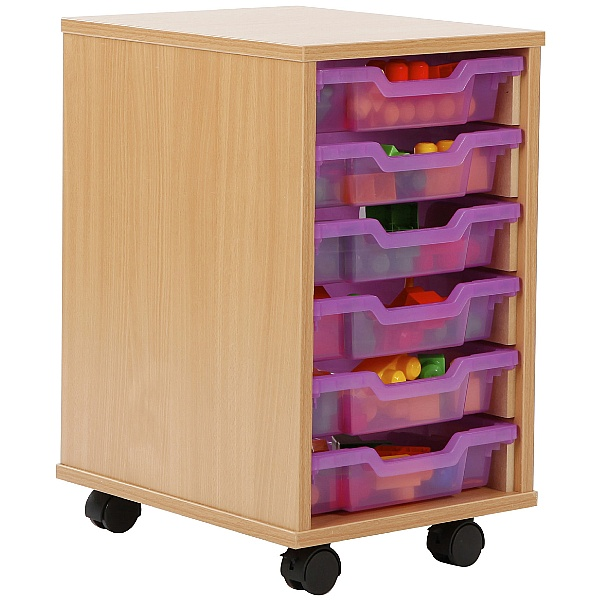 6 Tray Shallow Jelly Bean Storage