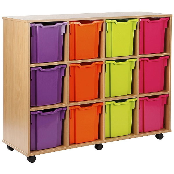 12 Tray Jumbo Storage Brights