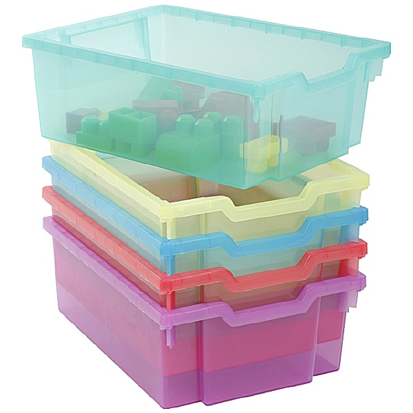 Gratnells Jelly Bean Deep Trays (Pack of 6)