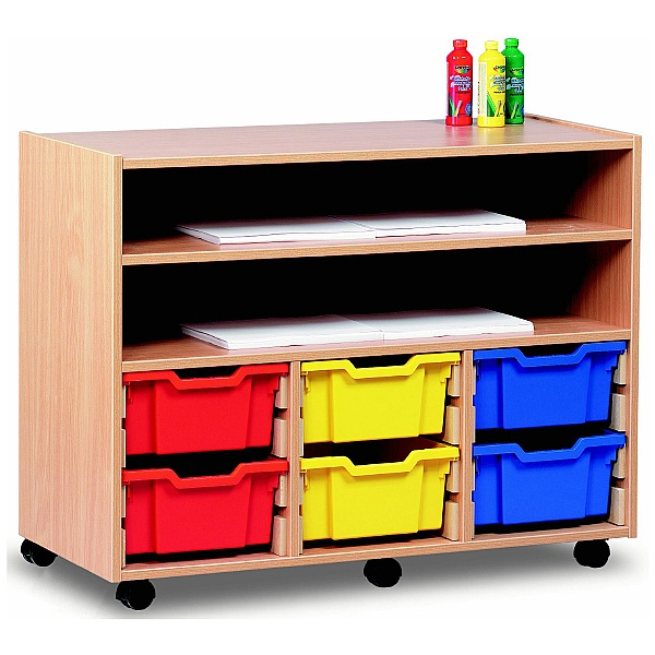 Art Storage 6 Tray Combination Unit