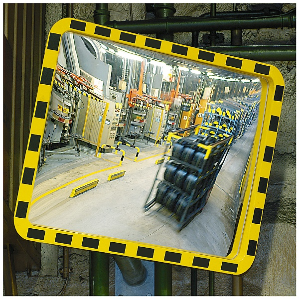 View Minder Rectangular Industrial Mirrors