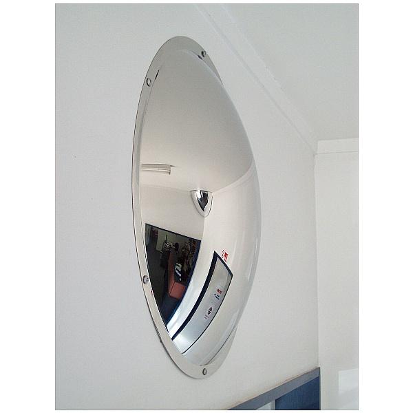 Anti Vandal Stainless Steel Subway Mirror