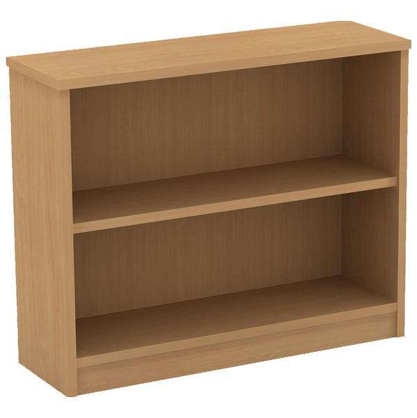 Alpha Plus Desk High Bookcase