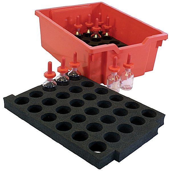 Gratnells Lab Bottles Tray Insert