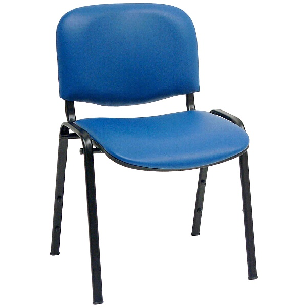 ISO Lexaire Vinyl Conference Chairs Black Frame