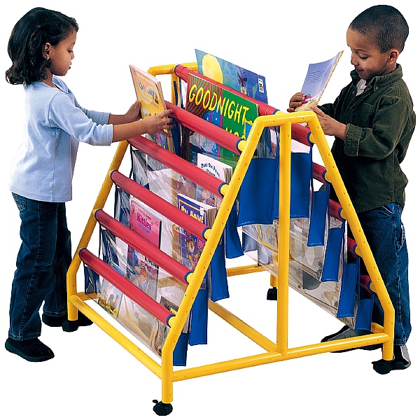 10 Pocket Book Display Unit