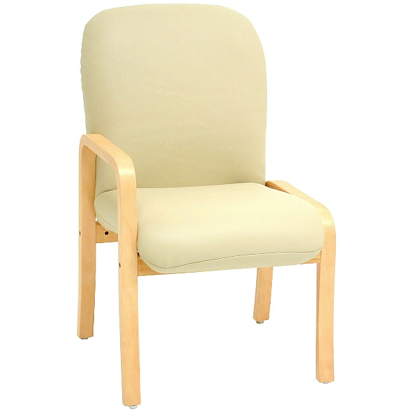 Alderley Lexaire Vinyl Reception Chairs With Right Arm