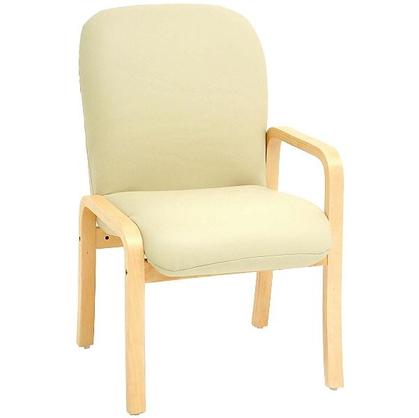 Alderley Lexaire Vinyl Reception Chairs With Left Arm