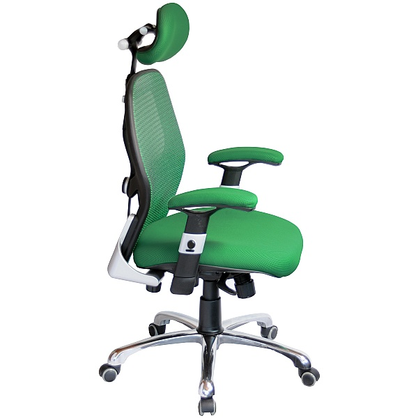 Ergo-Tek Green Mesh Manager Chair