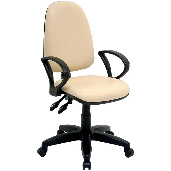 Rhino High Back Operator Chair Lexaire Vinyl