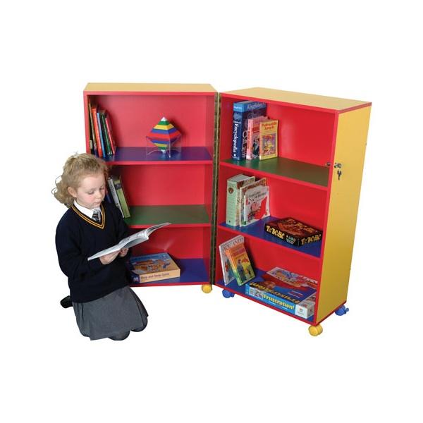 Mobile Foldaway Bookcase