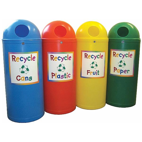 Slimline Classic Junior Recycling Bins