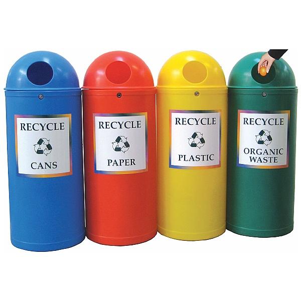 Slimline Classic Senior Recycling Bins