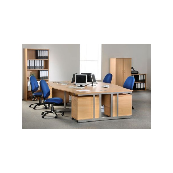 NEXT DAY Pulse Wave Cantilever Desks
