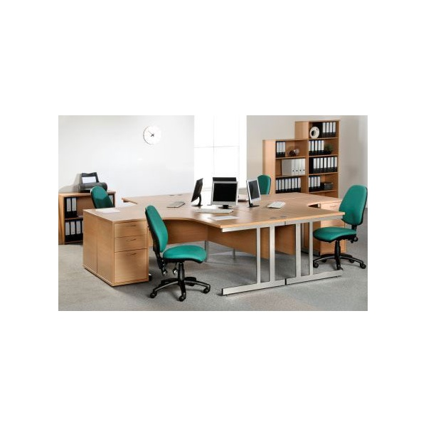 NEXT DAY Pulse Ergonomic Cantilever Desks