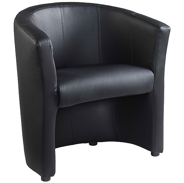 NEXT DAY Pentland Leather Tub Chair